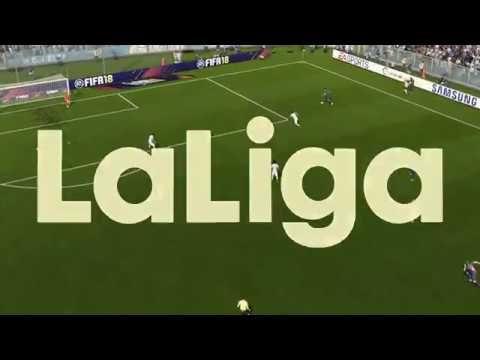 RC Celta vsFC Barcelona 1-7 Full Match FIFA 18 PC Gameplay HD