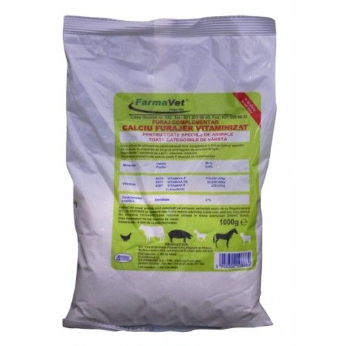 Calciu Furajer Vitaminizat 1 kg
