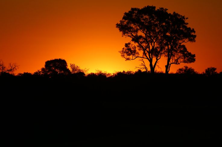 Sunset in Namibia- Digital image by CarlyTakesPictures on Etsy