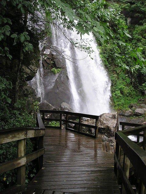 High Shoals Trail South Mountains State Park North Carolina