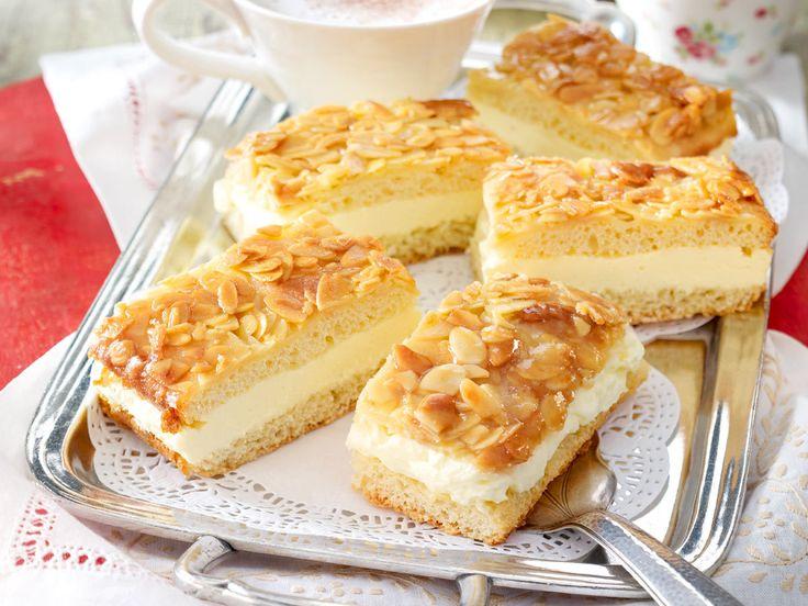 Bienenstich-Kuchen - Rezeptideen zum Nachbacken - bienenstich-kuchen-vom-blech  Rezept
