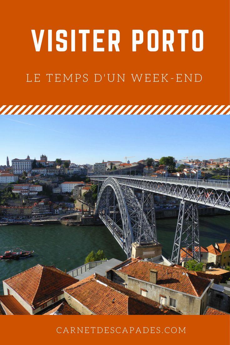 Visiter Porto au Portugal le temps d'un week-end ou d'une escapade ensoleillée. Les incontournables, à la poursuite de la mer en tram, visiter une cave à Porto, toutes mes bonnes adresses et où dormir à Porto#porto#portugal#voyage#europe