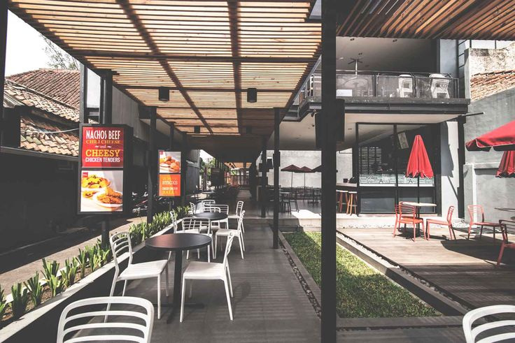 Richeese Factory Image 4  Project : Richeese Factory Location : Indonesia Description : Richeese Factory chain restaurant is our national project in Indonesia, until now we already designed more than 50 outlets all around Indonesia  #nationalproject #architect #bandung #jakarta #architectindonesia #archdaily #restaurants