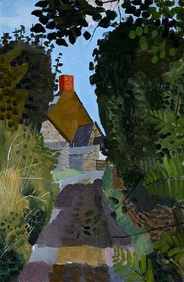 """""""An Essex Lane"""" by Kenneth Rowntree, c.1940s"""