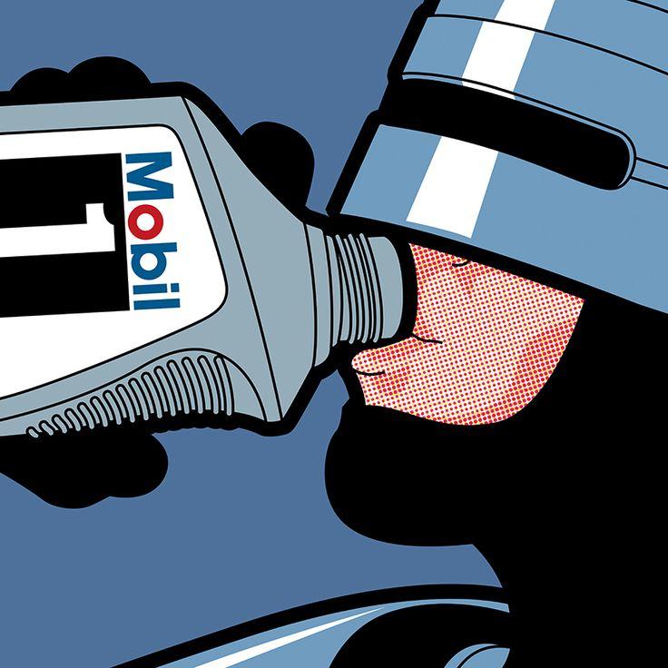 22 ilustraciones molonas de marcas populares con iconos de la cultura pop4