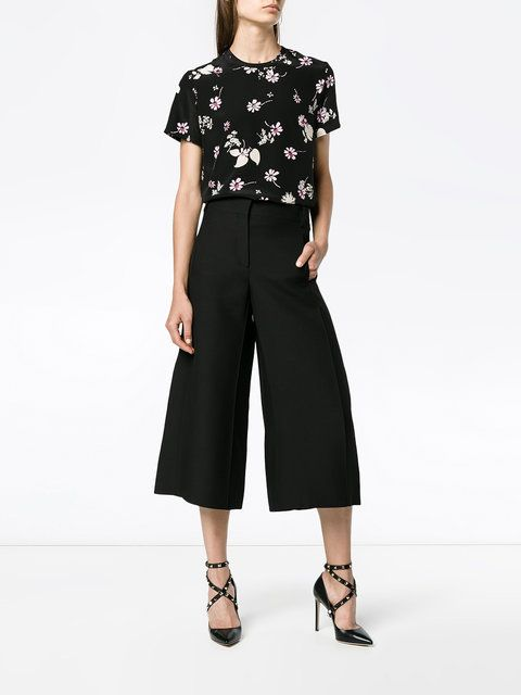 Valentino high-waisted culottes
