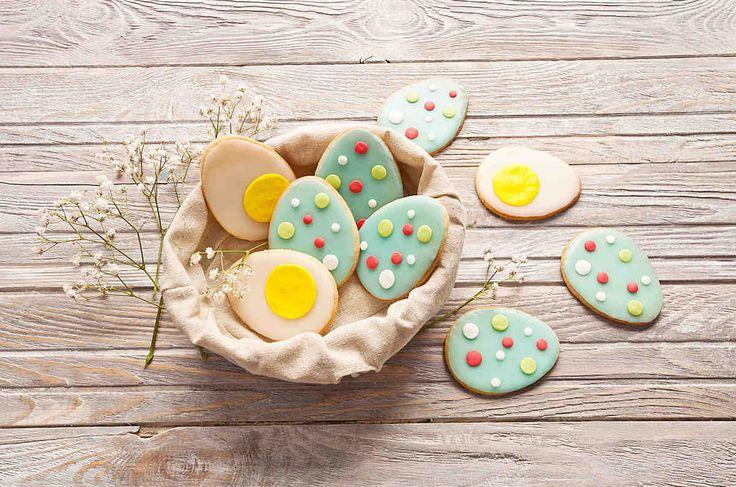 Kruche jajeczka wielkanocne  - wypróbuj sprawdzony przepis. Odwiedź Smaczną Stronę Tesco.