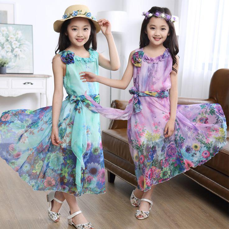 $39.19 (Buy here: https://alitems.com/g/1e8d114494ebda23ff8b16525dc3e8/?i=5&ulp=https%3A%2F%2Fwww.aliexpress.com%2Fitem%2FCostume-2016-New-Summer-Flower-Print-Girls-Bohemian-Beach-Dress-Teenage-Girls-Elegant-Long-Dress-Beautiful%2F32649148725.html ) Costume 2016 New Summer Flower Print Girls Bohemian Beach Dress Teenage Girls Elegant Long Dress Beautiful Beach Holiday Clothes for just $39.19
