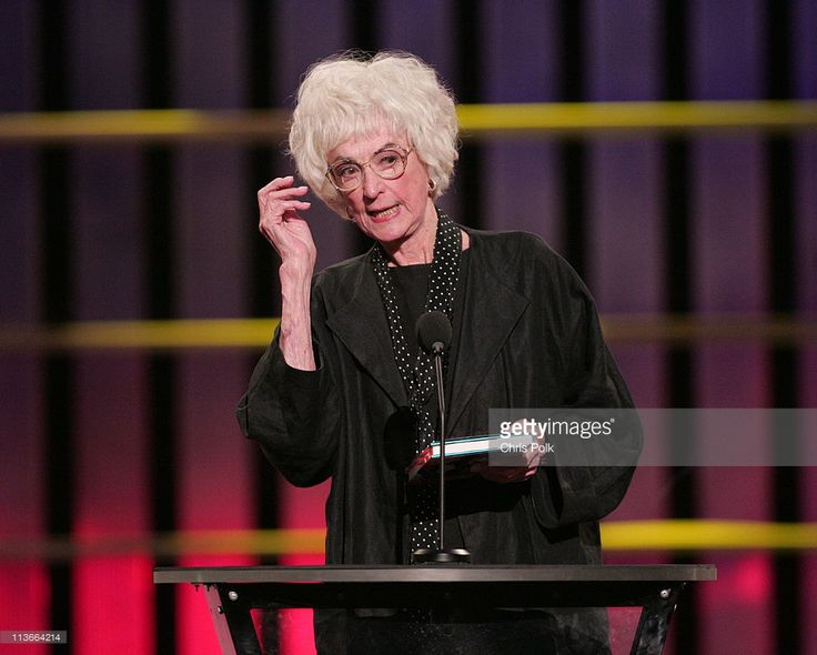 Bea Arthur during Comedy Central Roast of Pamela Anderson - Show at Sony Studios in Culver City, California, United States.