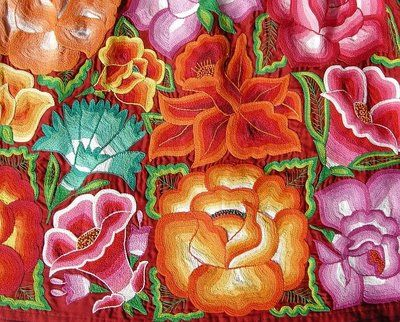 Allie's in Stitches: Oaxacan Embroidery