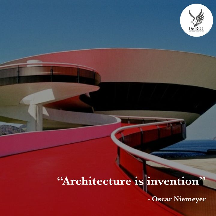 """Architecture is invention"" - Oscar Niemeyer #quotes #architecture #design"