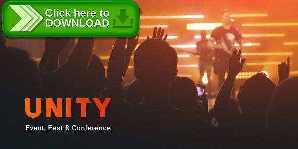[ThemeForest]Free nulled download Unity – Event, Fest & Conference PSD Template from http://zippyfile.download/f.php?id=34354 Tags: camp, conference, conference theme, design, event, event PSD theme, event schedule, event website, exhibition, expo, meet, Meetup