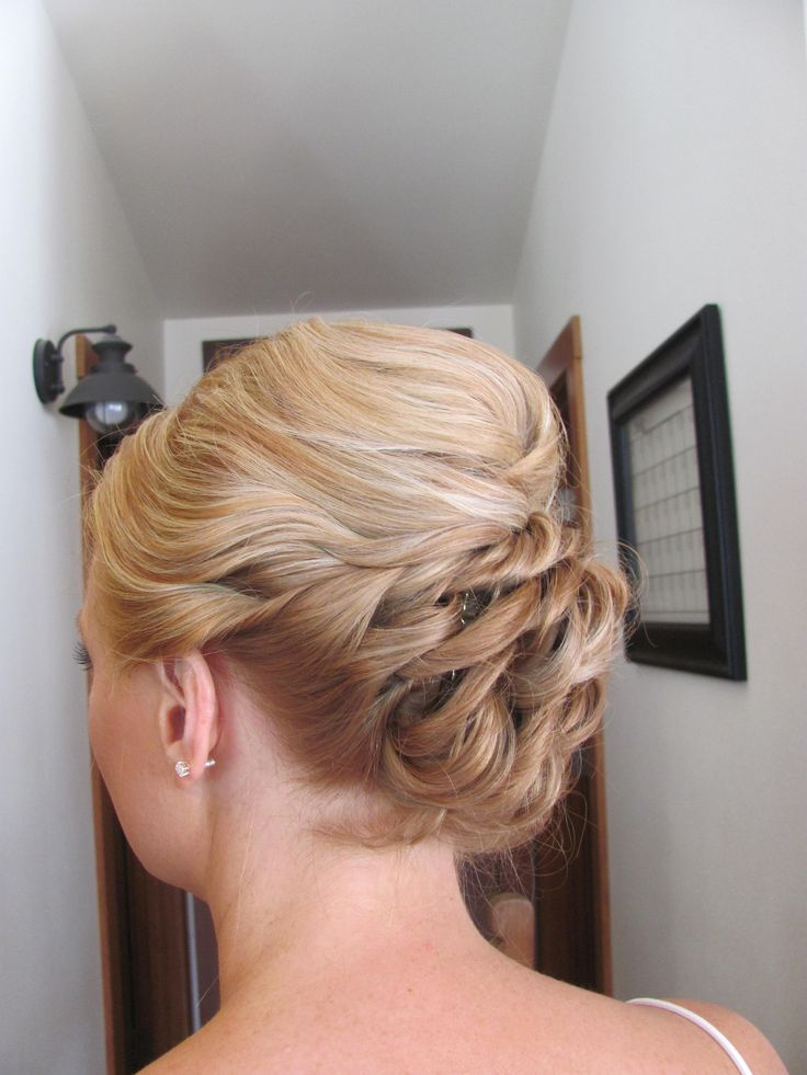 updo prom updo prom hair loose braid military ball