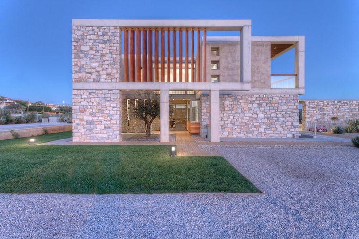 Stone House in Anavissos by Whitebox Architects | The Greek Foundation