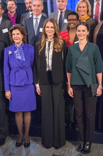 Her Royal Highness Queen Silvia of Sweden attends the German Sustainability Award 2015 (Deutscher Nachhaltigkeitspreis) at Maritim Hotel on November 27, 2015 in Duesseldorf, Germany.