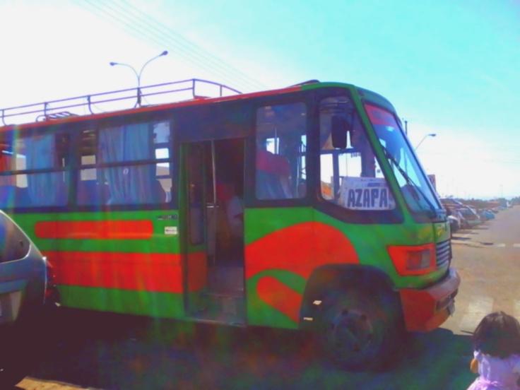 Microbus Arica Chile