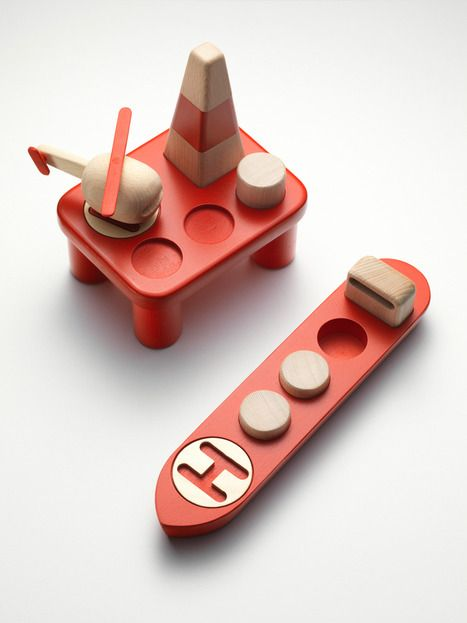 Nordic diorama wooden toy by Permafrost
