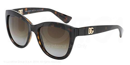 Dolce and Gabbana 6087 502/T5 Tortoise 6087 Cats Eyes Sunglasses Polarised Lens: Amazon.co.uk: Shoes & Bags
