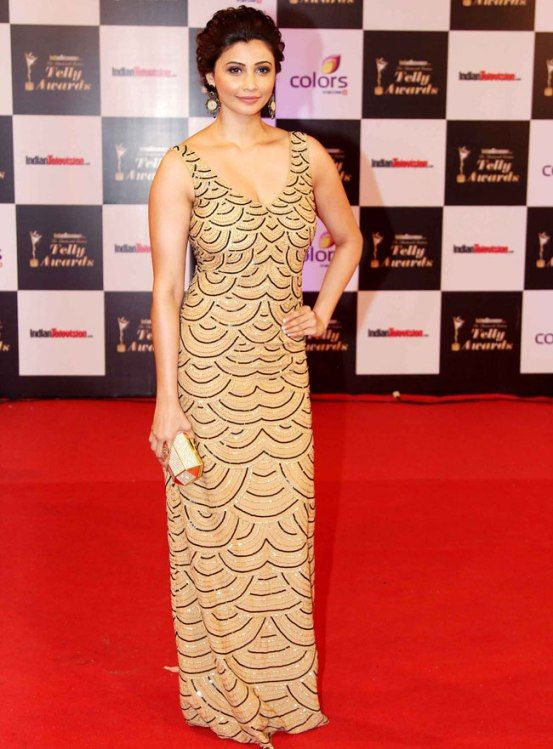 Daisy Shah at Indian Telly Awards 2014