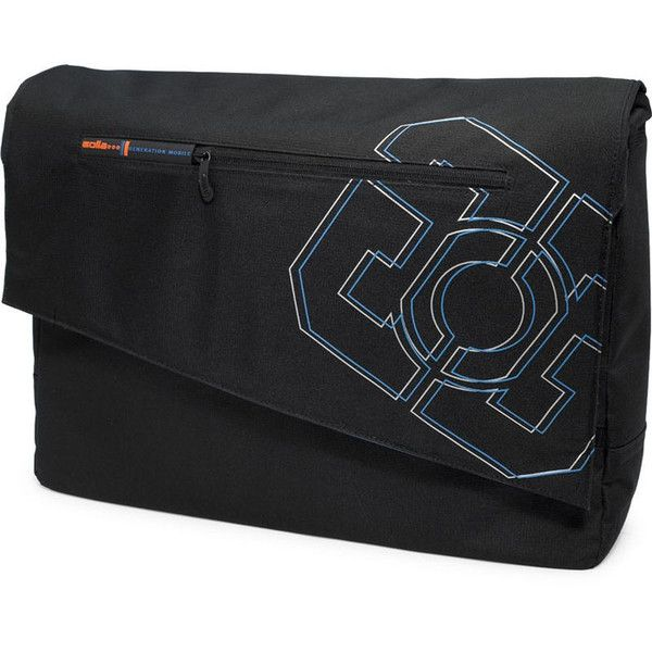 "Golla Asymmetric 17.3"" Laptop Bag: Black 