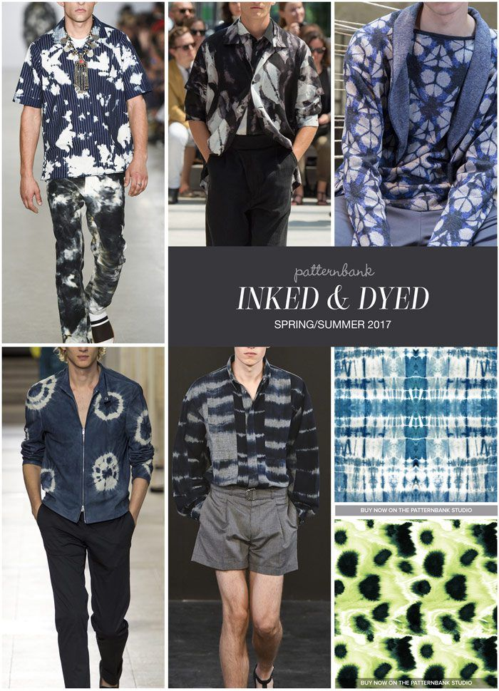 Inked & Dyed » Casely Hayford / Issey Miyake / Antonio Marras / Hermes / E. Tautz / Indigo Blue Shibori by Karen Banson / Ink Brushes Paint by Joen Engulf