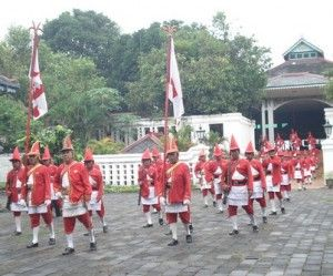 prajurit keraton, prajurit wirobrojo   Wisata Yogyakarta