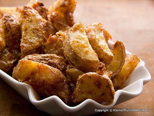 Kleiner Kuriositätenladen: Gebackene Parmesankartoffeln