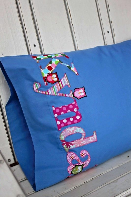 Gave personalized pillowcases to the kids in our family for Christmas this year. Great for sleepovers!