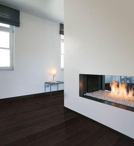 Wood veneer flooring - Par-ky Deluxe+ CHOCOLATE OAK Brushed