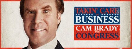 The Campaign Political Ad Trailer - We also have two banners for Will Ferrell's Cam Brady and Zach Galifianakis' Marty Huggins from this new political comedy.