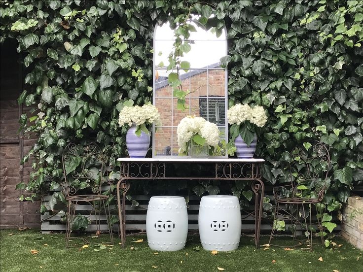 Summer studio sessions in the Samantha Todhunter Design Garden