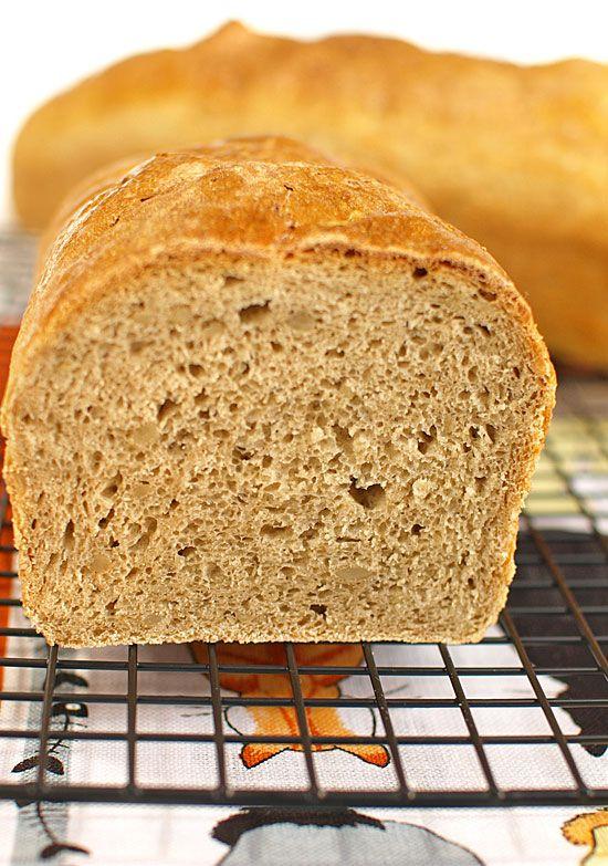 Chleb pszenno-żytni z ziarnami słonecznika (na drożdżach)