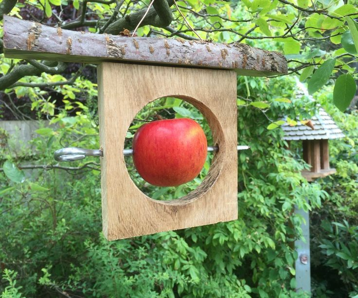 Recycled Wood/Offcut Bird Feeder
