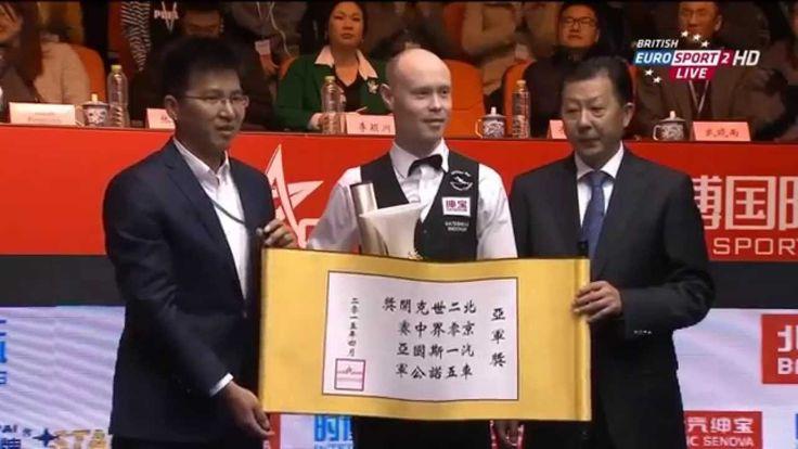 HD - Awarding Ceremony 2015 China Open Snooker
