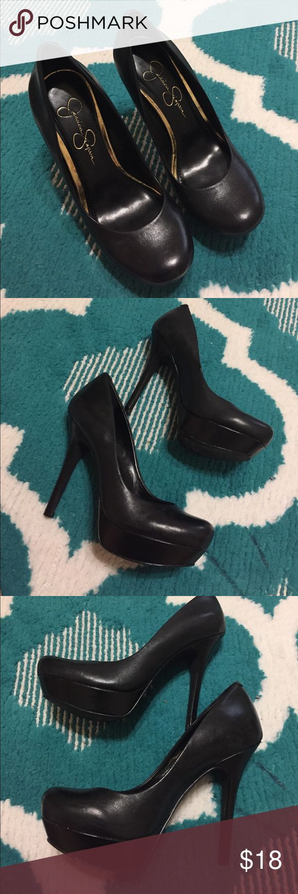 Jéssica Simpson black pumps Jessica Simpson black pumps Jessica Simpson Shoes Heels