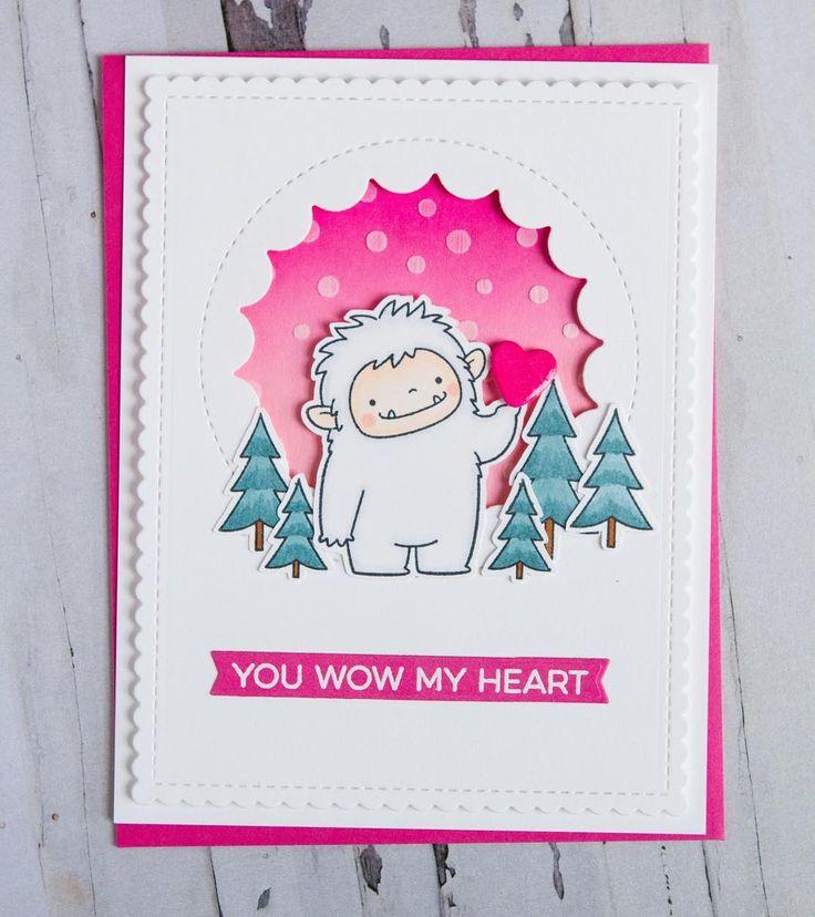 161 best cards MOUNTAIN images on Pinterest Beast friends - good luck card template