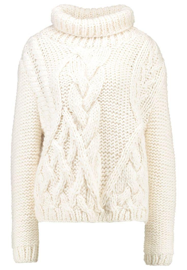 Pulls Holzweiler WINNA - Pullover - white blanc: 400,00 € chez Zalando (au 29/09/16). Livraison et retours gratuits et service client gratuit au 0800 915 207.
