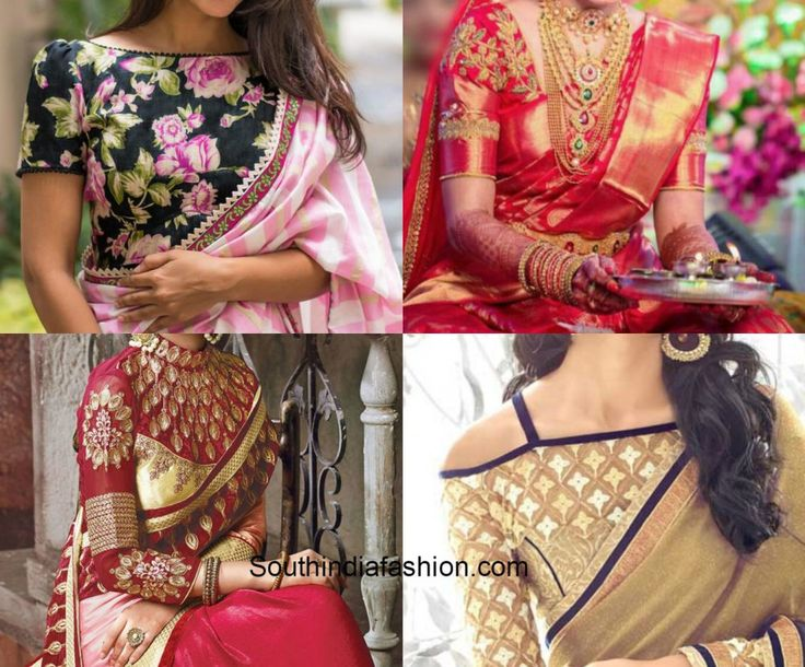 10 Must Have Blouse Designs!!