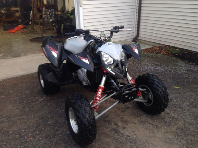 2007 polaris outlaw 500 4 wheeler black for sale in springwater ny atv pinterest atv. Black Bedroom Furniture Sets. Home Design Ideas