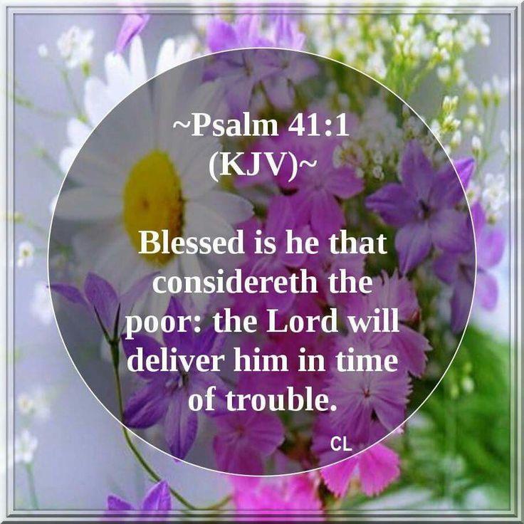 Psalm 41:1 KJV