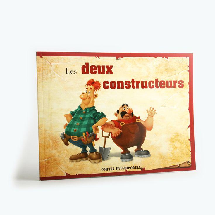 Les deux constructeurs - Pierre est un homme maladroit et impatient. Son bon ami, Jean, est au contraire minutieux et patient. Les deux hommes doivent construire une maison pour leur nouvelle épouse. Pierre prend quelques raccourcis pour y arriver, mais se rendra vite compte de son erreur.