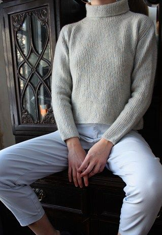 Rare+VERGER+MILANO+Hand+Made+Cashmere+Sweater