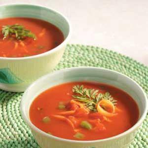 soup cold tomato soup fruit soup cold potato soup melon soup and more ...