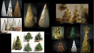 Pomysły plastyczne dla każdego, DiY - Joanna Wajdenfeld: Choinki, choineczki, podstawy i ozdoby