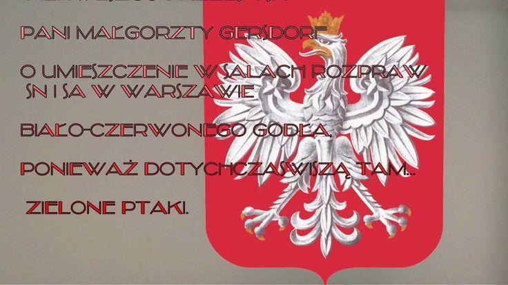 Wręczanie petycji w sprawie wymiany orłów 24.01.2017 Wersja skrócona - tylko rozmowa z panią prezes SN Małgorzatą Gersdorf oraz wstęp i napisy końcowe