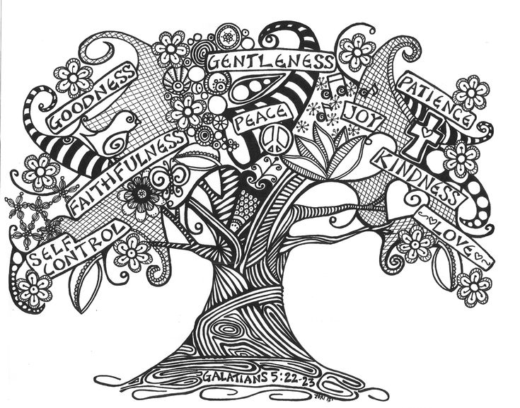 Zentangle Tree by Tori Jenkins