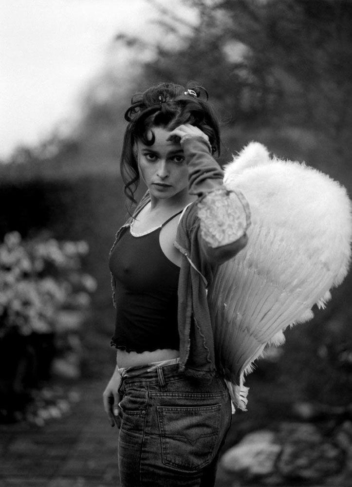 Helena Bonham Carter....I like her in wings better than the gang at Victoria's Secret....