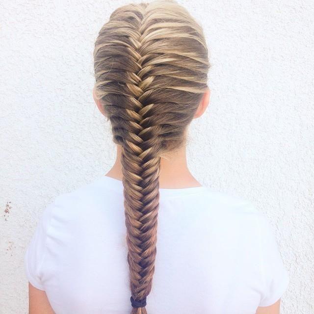 Astounding 1000 Ideas About French Fishtail Braids On Pinterest French Short Hairstyles For Black Women Fulllsitofus