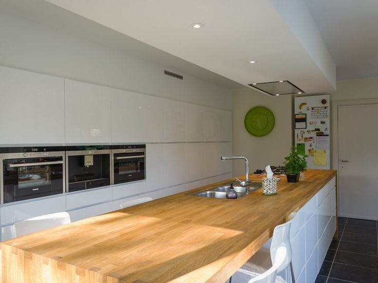 20 beste idee n over open keukens op pinterest - Open keuken idee ...