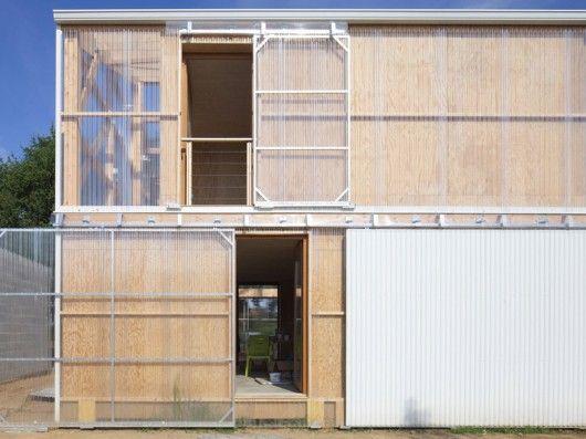 Architects: Fouquet Architecture Urbanisme Location: Couëron, France Architect In Charge: Gabriel Lefèvre Photographs: Philippe Ruault